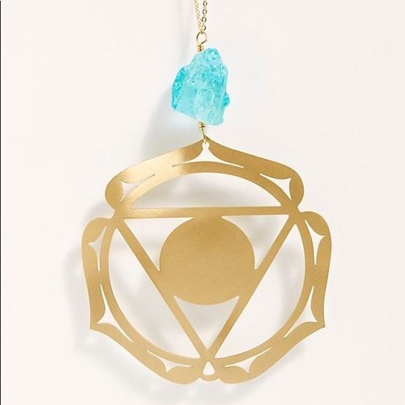 New Free People Ariana Ost Hanging Chakra Ornament